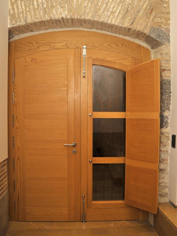 Serranosa madera y creatividad - Puertas dobles de interior ...