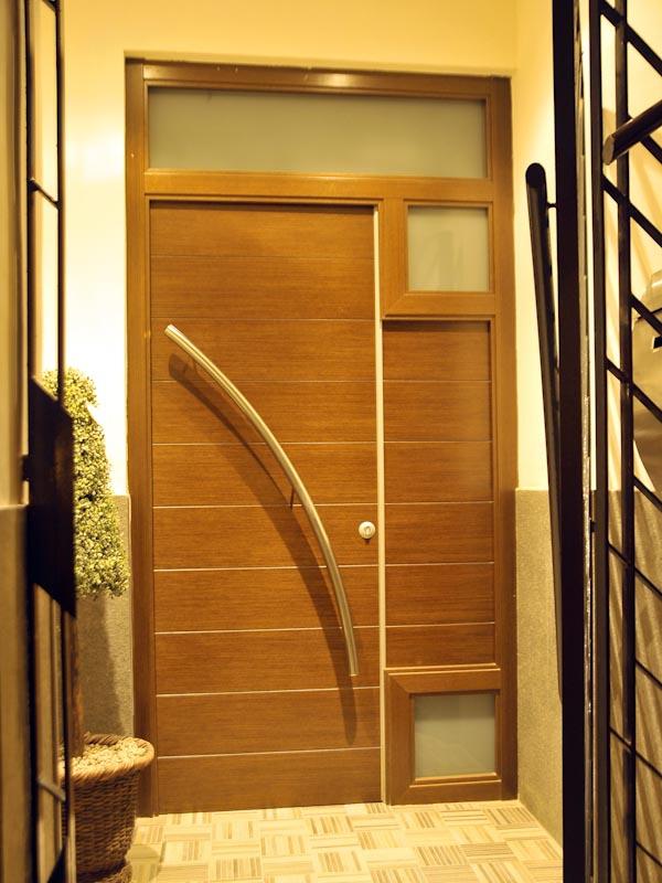 Serranosa madera y creatividad - Puertas de exterior madera ...