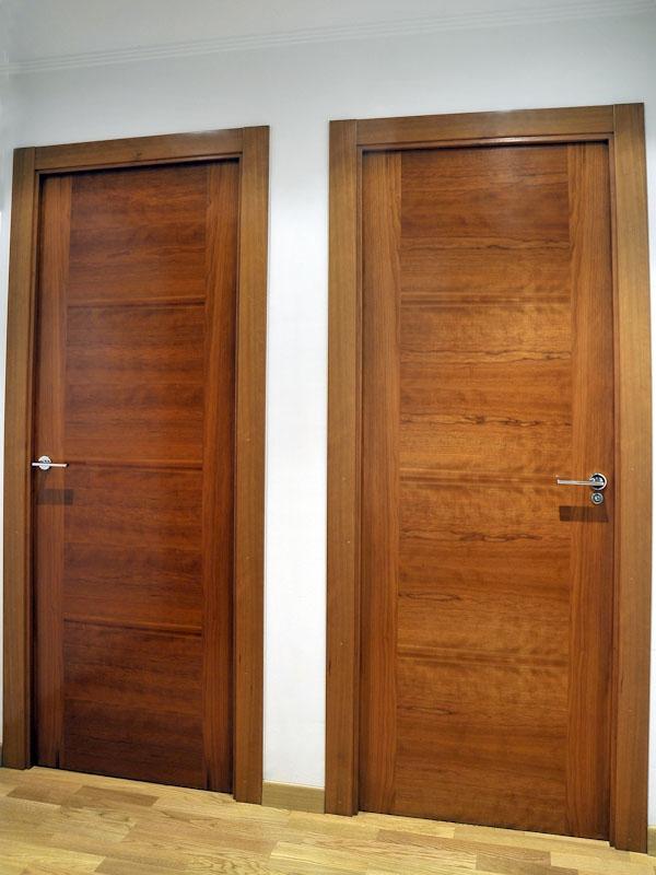 Serranosa madera y creatividad for Maderas para puertas de interior