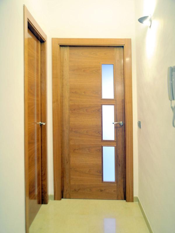 Serranosa madera y creatividad for Cristales para puertas de paso