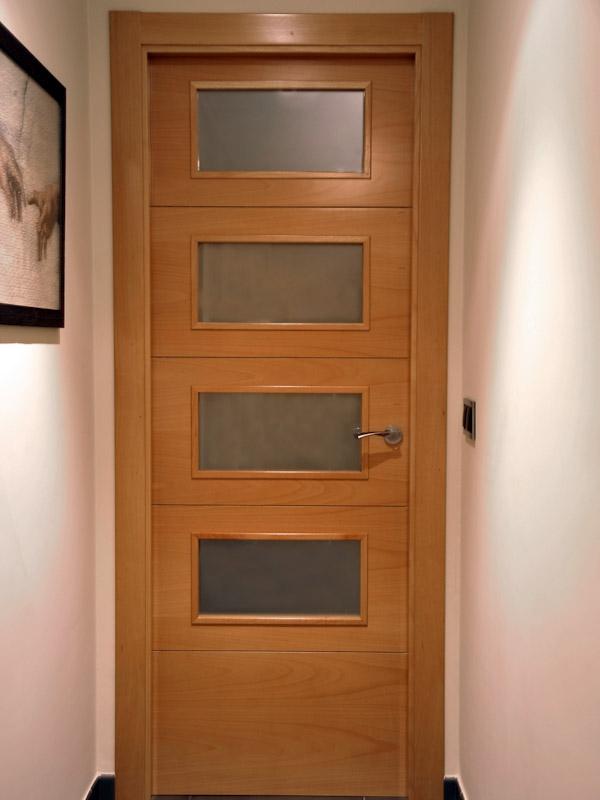 Serranosa madera y creatividad - Puertas de interior con cristales ...